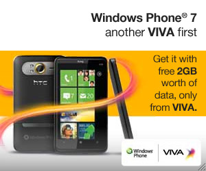 Windows Phone 7 by VIVA Bahrain