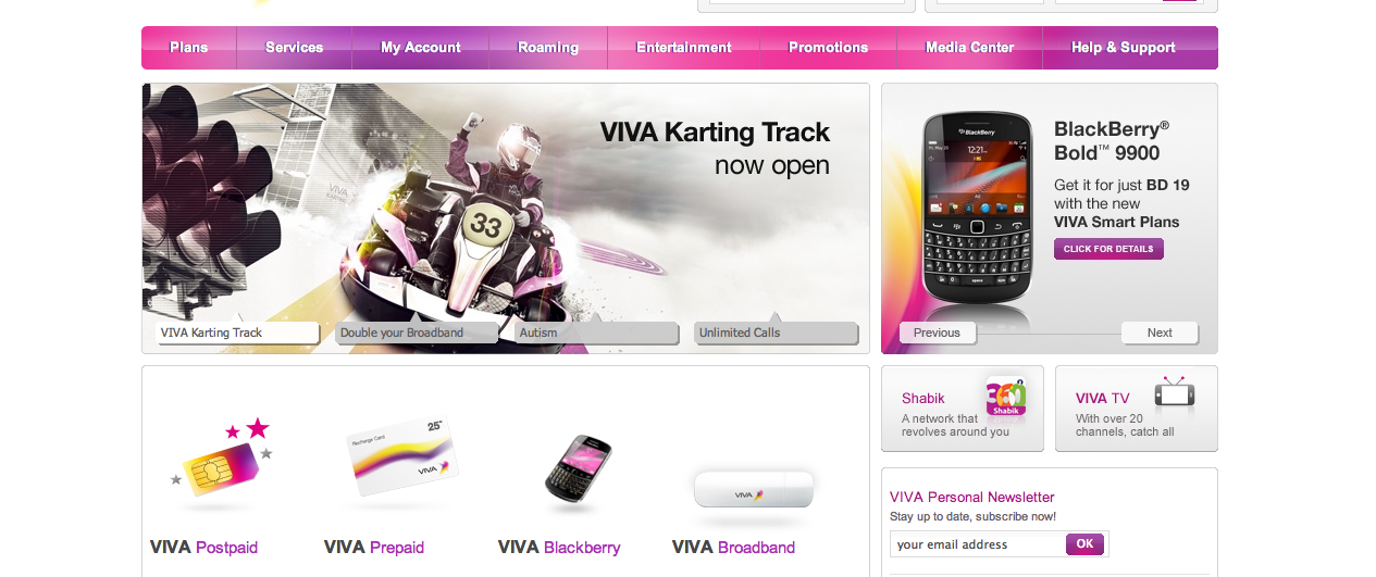 VIVA Homepage
