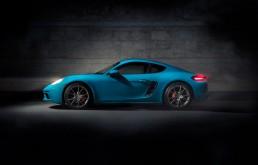 Porsche Cayman S Miami Blue